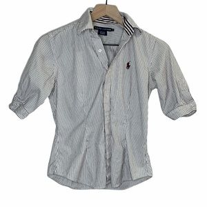 Ralph Lauren Polo Boys Button Down Collared Shirt